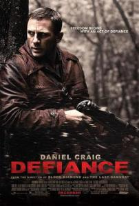 """""""Defiance"""" is one of the few mainstream movies that depict Jewish resistance to the Holocaust.  Another good movie is """"Escape from Sobibor"""" resistance"""