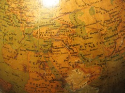 old globe, map, Astore