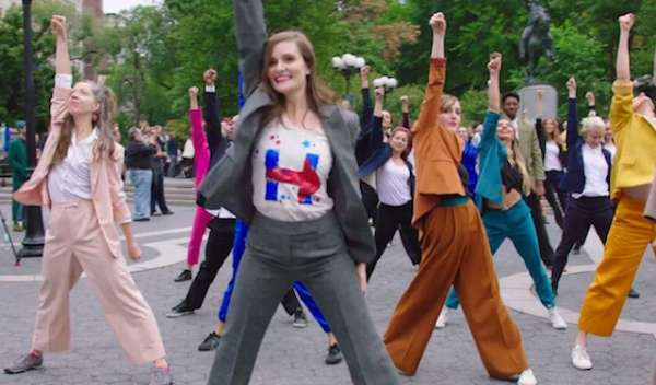 hillary-clinton-pantsuit-power-activists-flashmob-to-justin-timberlake-song-in-nyc