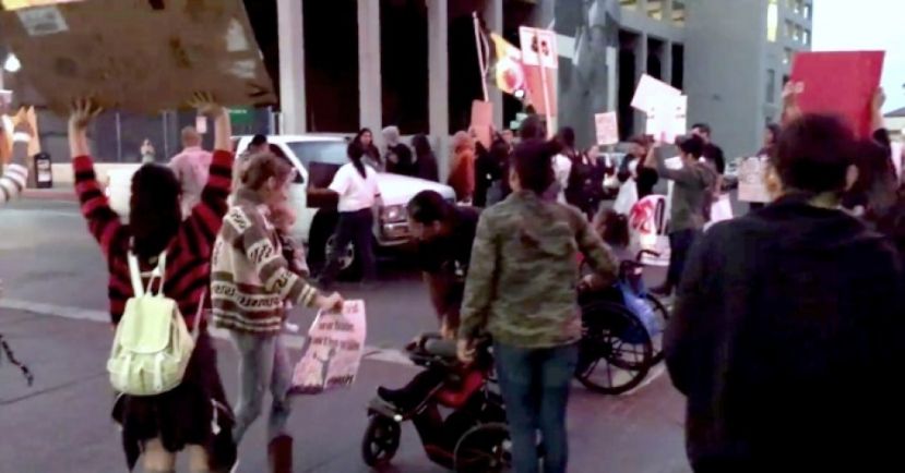 indigenous-protest-truck-plowed-through-nevada