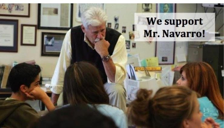 Frank Navarro, a history and special education teacher at Mountain View High School, was placed on leave after drawing comparisons between President-elect Donald Trump and Adolf Hitler. Navarro, pictured here in his classroom, said the comparisons were based on facts. -- -- *Tatiana Sanchez* Race and Demographics Reporter | Editorial tsanchez@bayareanewsgroup.com 408-920-5836 Direct @TatianaYSanchez bayareanewsgroup.com *Over 5 million engaged readers weekly*