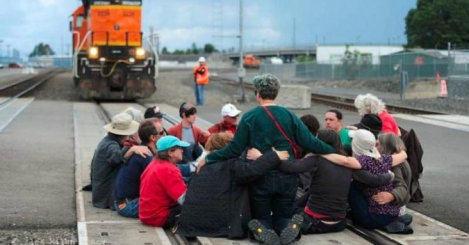 rail-blockade