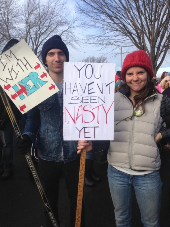 protest-signs-womens-march-portland-me