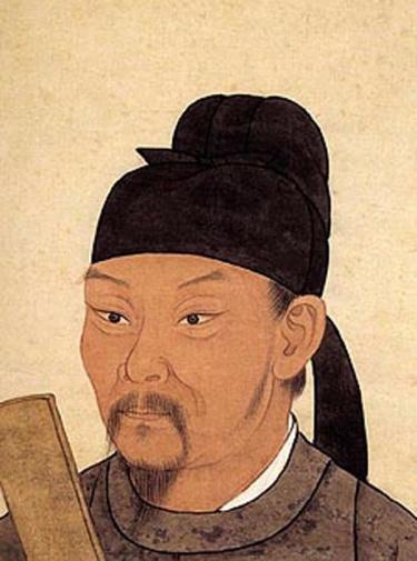 Poet Tu Fu (Du Fu)