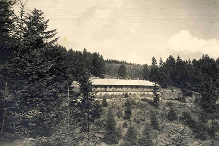 The Solahütte retreat was used to provide a relaxing atmosphere for SS officers working at the Nazi death camp at Auschwitz