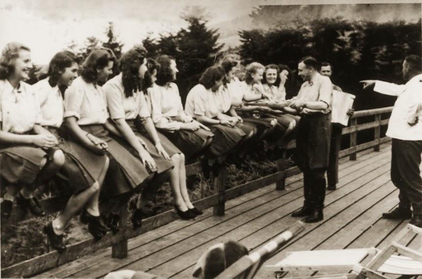 Karl Hoecker album Laughing at Auschwitz