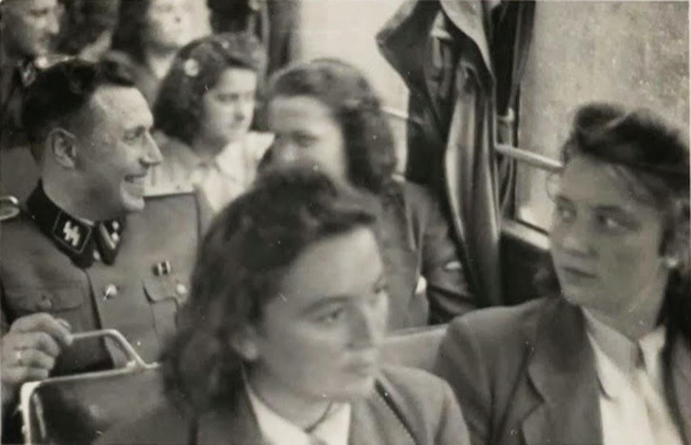 Karl Hoecker en route to or returning from Solahütte.